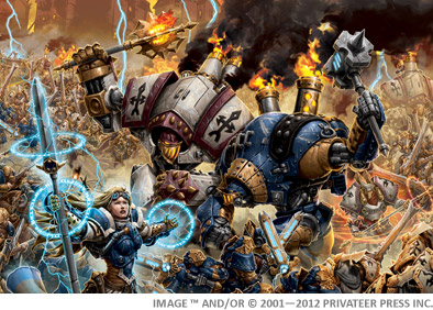 What Are Warmachine Colossals