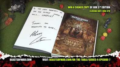Win a signed copy of 40K 5th edition
