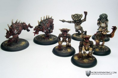 Worthy Painting - Orcnar Warband
