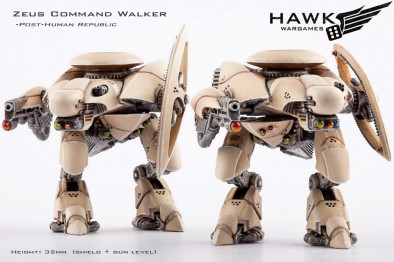 Zeus Command Walker - Post-Human Republic