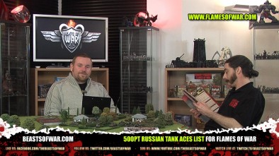500pt Russian Tank Aces List for Flames of War