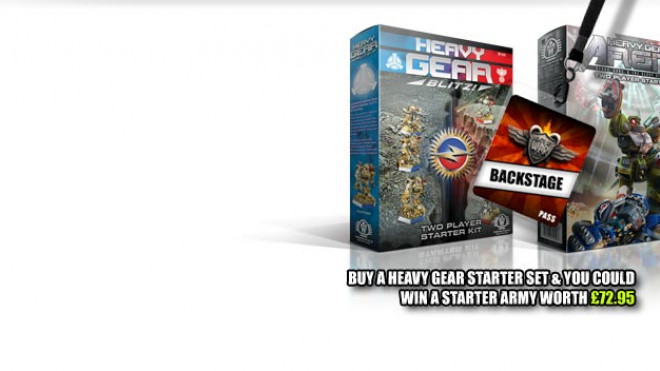 Heavy Gear – OnTableTop – Home of Beasts of War