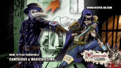How to Play Carnevale: Campaigns & Magical Items