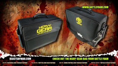 Check Out the Heavy Gear bag from Battle Foam