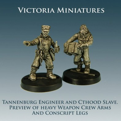Engineer and Cthood Conversions with Conscript Legs