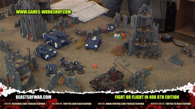 Fight or Flight in 40K 6th Edition