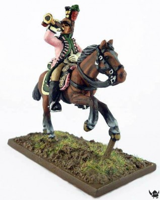 French Dragoon with Bugle