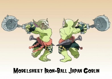 Greebo - Nippo Goblin with Iron Ball