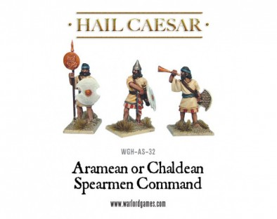 Hail Caesar - Aramean or Chaldean Spearmen Command