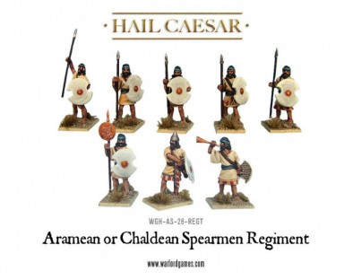 Hail Caesar - Aramean or Chaldean Spearmen Regiment