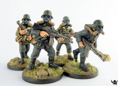 Jurassic Reich German Infantry