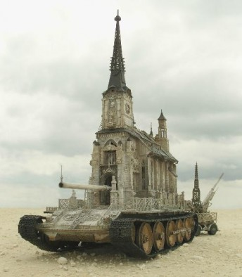 Kris Kuksi Church Tank