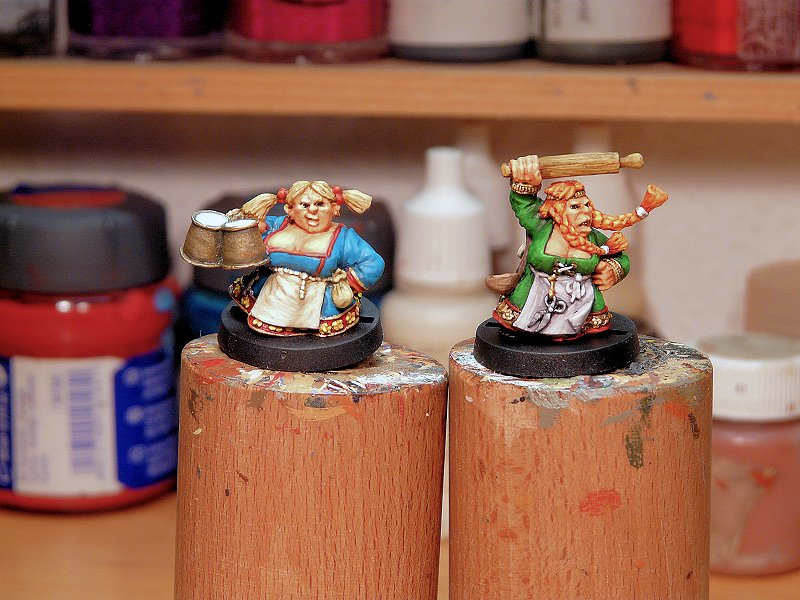 Lead Adventures New Dwarves Get A Lick Of Paint