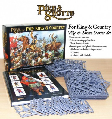 Pike & Shotte - For King and Country Starter Set