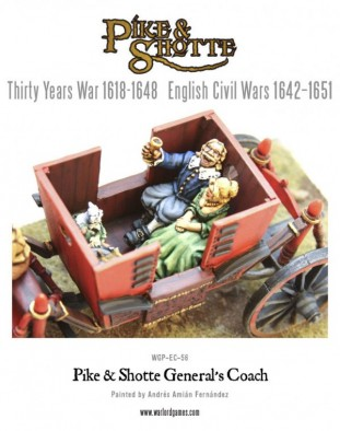 Pike and Shotte - General's Coach Interior