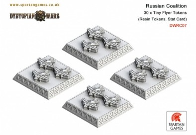 Russian Coalition - Tiny Flyer Tokens