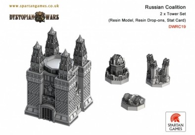 Russian Coalition - Tower Set