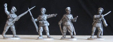 Russian Officers & NCOs (Front)