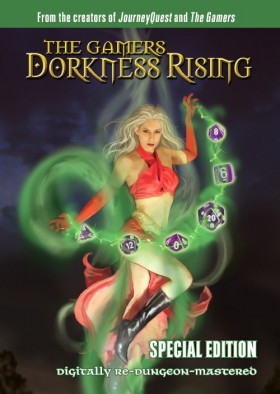 The Gamers - Dorkness Rising Cover