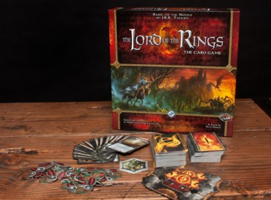 The Lord of the Rings - The Card Game Components