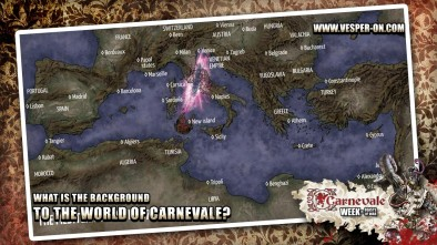 What is the Background to the World of Carnevale?