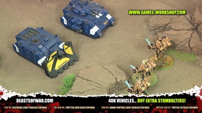 40K Vehicles... Buy Extra Stombolters!