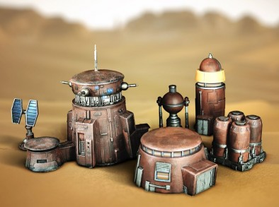 Bandlands Outpost Set