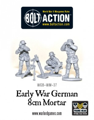Bolt Action - German Mortar