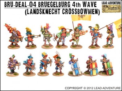 Bruegelburg Crossbowmen Collection