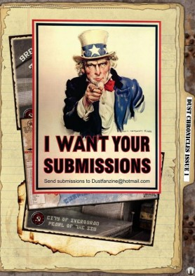 Dust Chronicles Issue Submissions