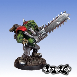 Fantasy Football - Chainsaw Orc