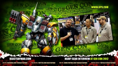Heavy Gear Interview at Gen Con 2012