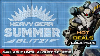 Heavy Gear Summer Blitz - Hot Deals - Click Here