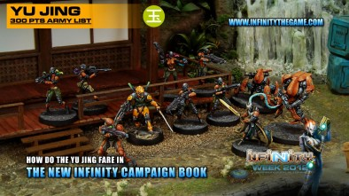 How do the Yu Jing fare in the new Infinity Campaign Book