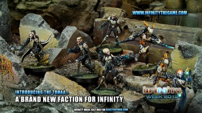 Introducing the Tohaa… A Brand New Faction for Infinity