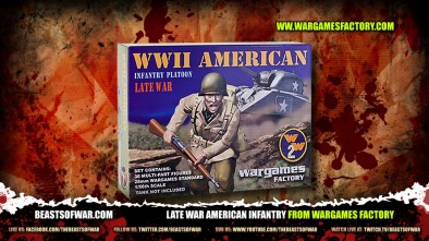 Late War American Infantry From Wargames Factory