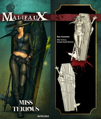 Malifaux - Miss Terious