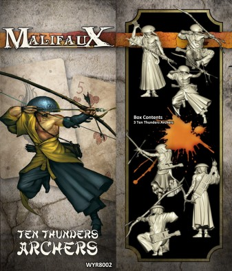 Malifaux - The Ten Thunder Archers
