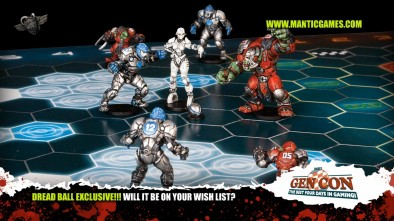 Mantic Games: Dread Ball Update Exclusive Image 1