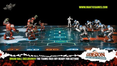 Mantic Games: Dread Ball Update Exclusive Image 3