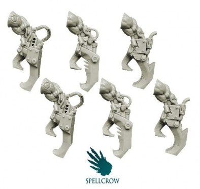 Mechanical Orc Claws