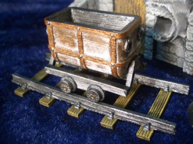 Mine Trolley Painted