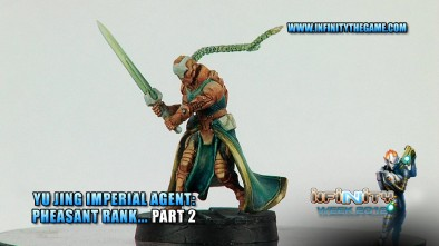 Painting a Yu Jing Pheasant Rank Agent... Part 2