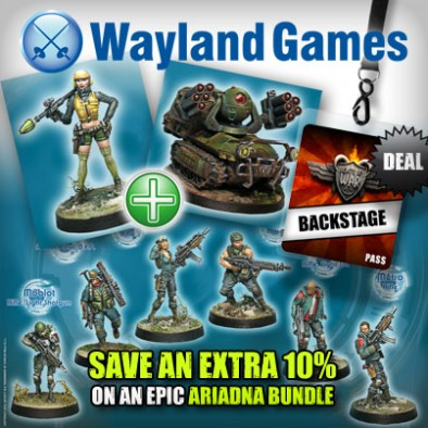 Save an Extra 10% on this Ariadna Bundle