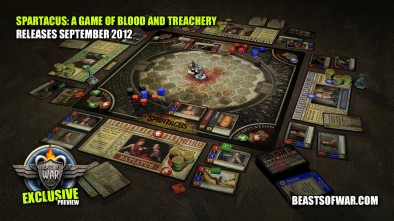 Spartacus A Game of Blood and Treachery Layout