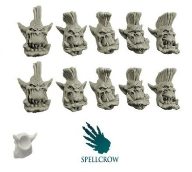 Spellcrow - Orc Slayer Heads
