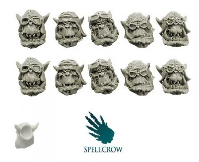 Spellcrow - Orc Storm Flyer Heads