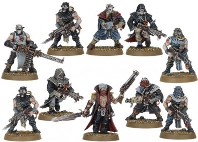 Warhammer 40k - Chaos Cultists
