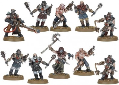 Warhammer 40k - Chaos Cultists Close Combat