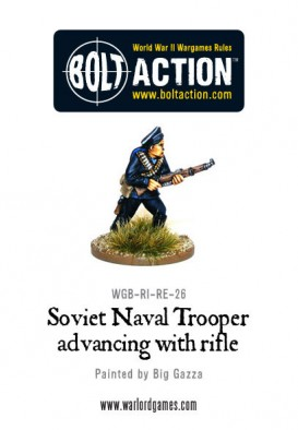 Warlord - Soviet Naval Brigade with Rifle